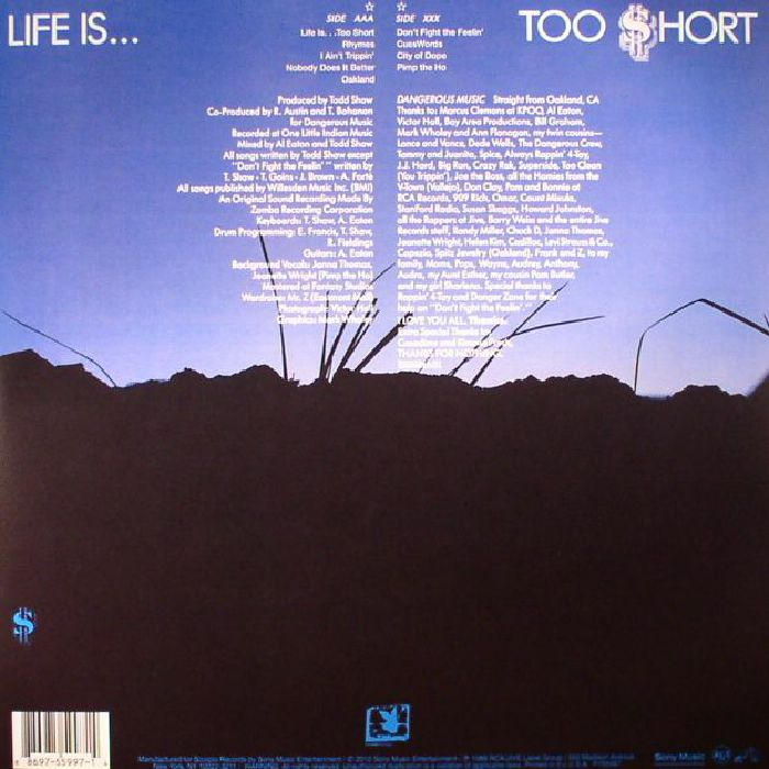 TOO SHORT - Life Is Too Short
