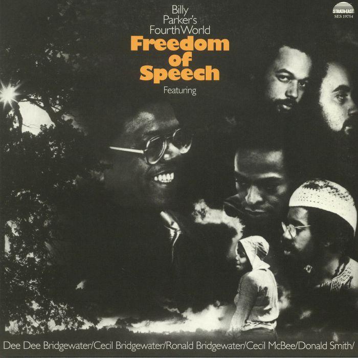 BILLY PARKER'S FOURTH WORLD - Freedom Of Speech (remastered)