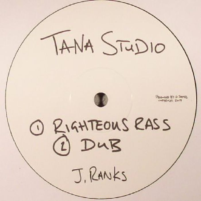 RANKS, Jimmy - Righteous Rass