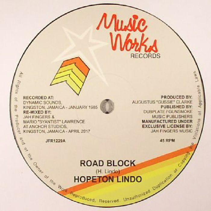 LINDO, Hopeton/SYANTIST/JAH FINGERS - Road Block