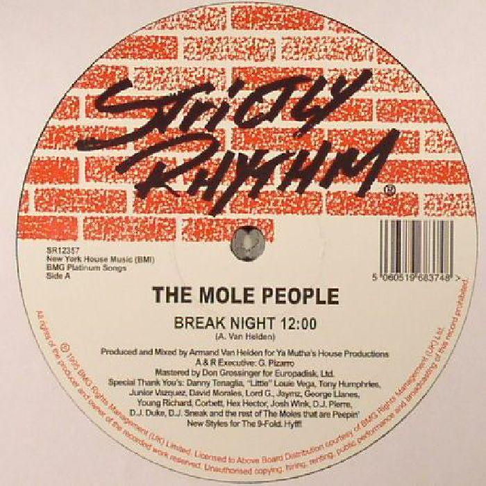 MOLE PEOPLE, The - Break Night (reissue)