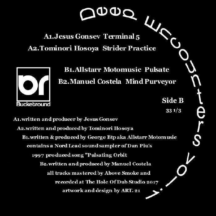 GONSEV, Jesus/TOMINORI HOSOYA/ALLSTARR MOTOMUSIC/MANUEL COSTELA - Deep Encounters Vol 1