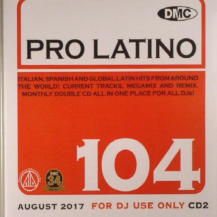 VARIOUS - DMC Pro Latino 104  (Strictly DJ Only)