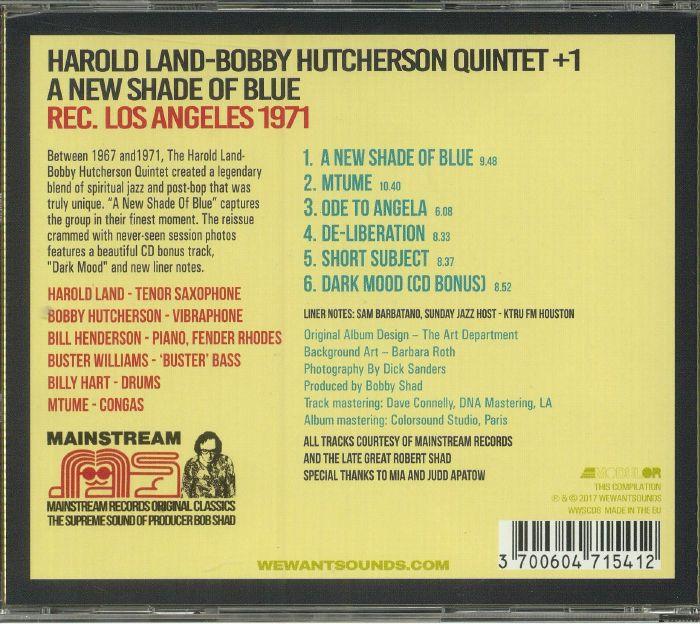 LAND, Harold - A New Shade Of Blue
