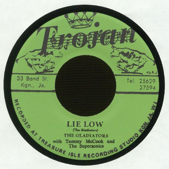 GLADIATORS, The/TOMMY McCOOK & THE SUPERSONICS - Lie Low