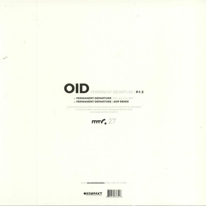 OID - Permanent Departure P 1-2
