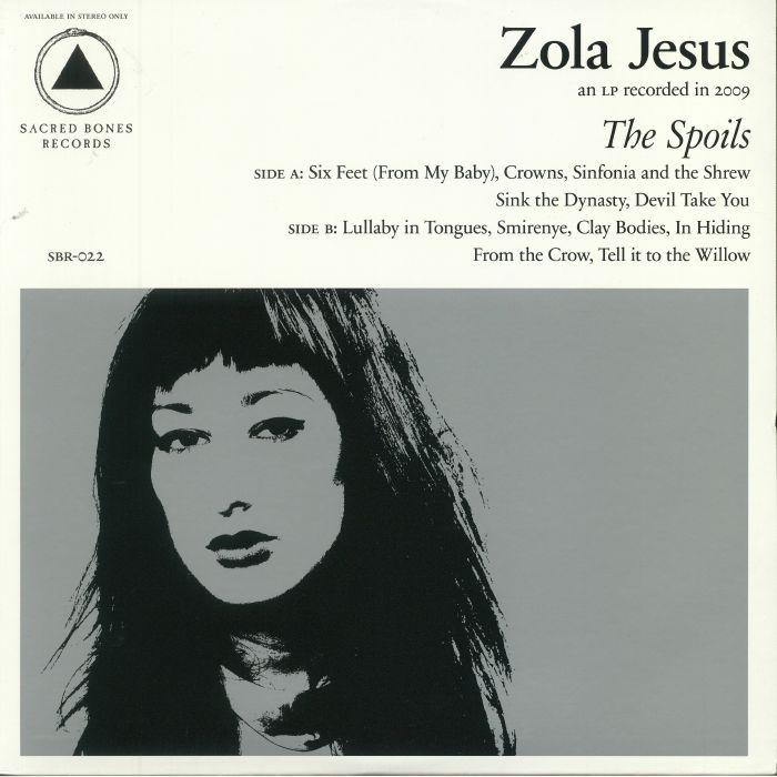 ZOLA JESUS - The Spoils