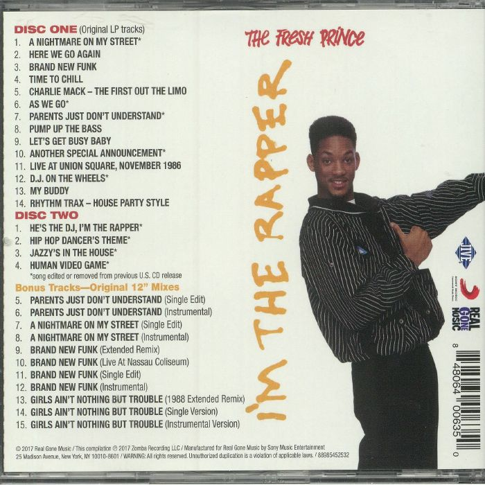 DJ JAZZY JEFF/THE FRESH PRINCE - He's The DJ I'm The Rapper (Expanded Edition)