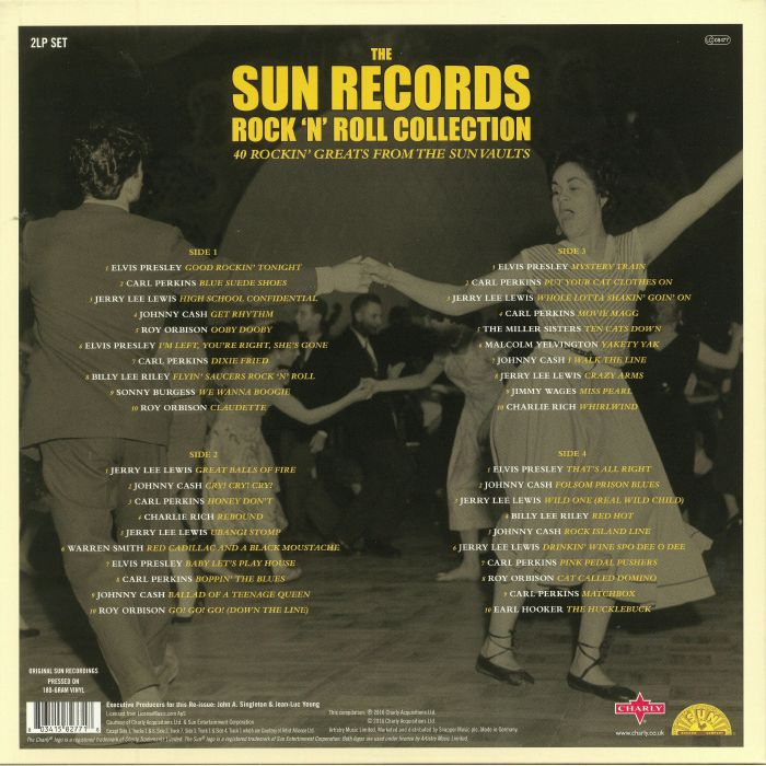 SUN RECORDS, The - Rock'n'Roll Collection