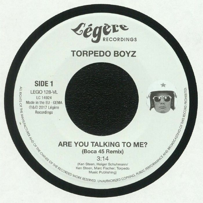 TORPEDO BOYZ - Are You Talking To Me?