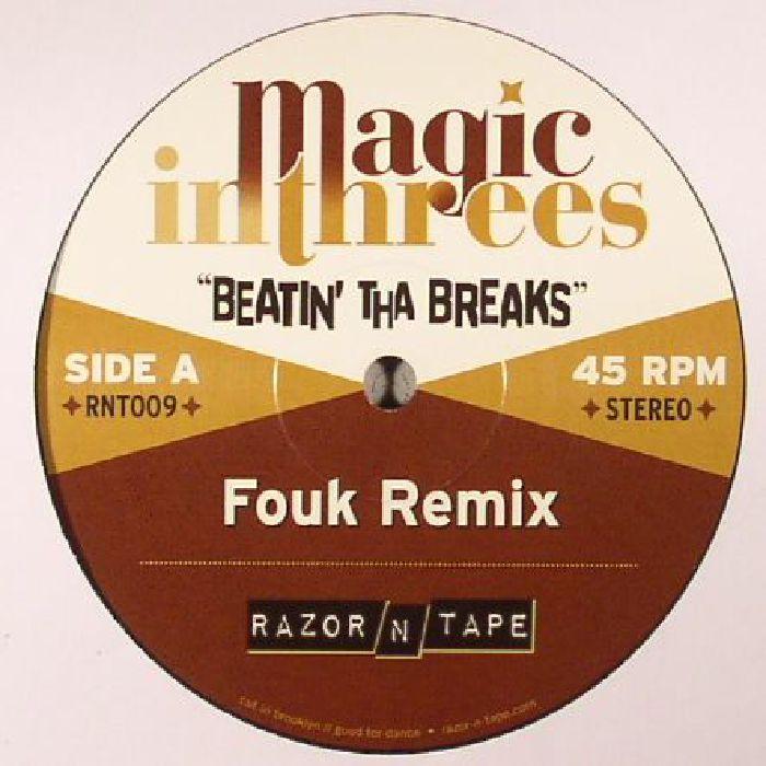 MAGIC IN THREES - Beatin' Tha Breaks (reissue)