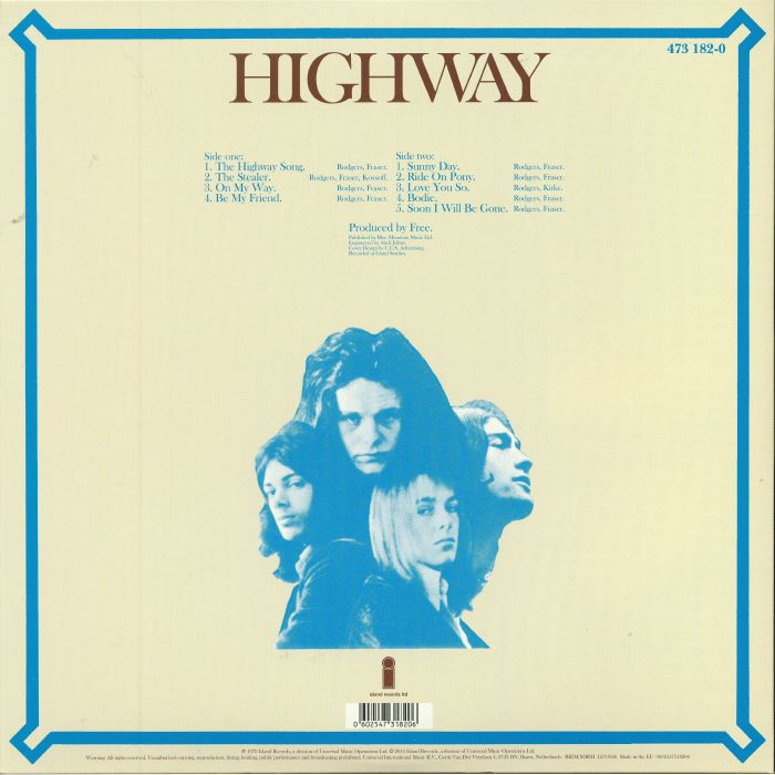 FREE - Highway (remastered)