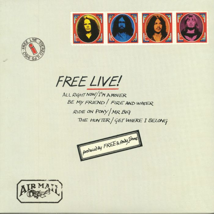 FREE - Free Live! (remastered)