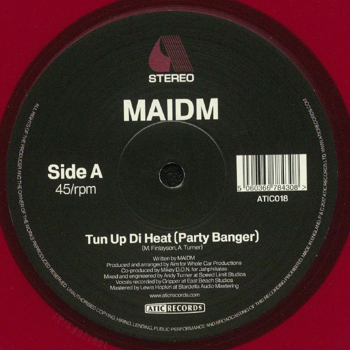 MAIDM - Tun Up Di Heat (Party Banger)
