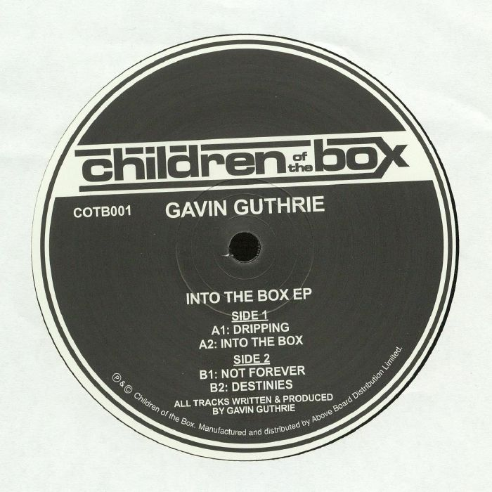 GUTHRIE, Gavin - Into The Box EP