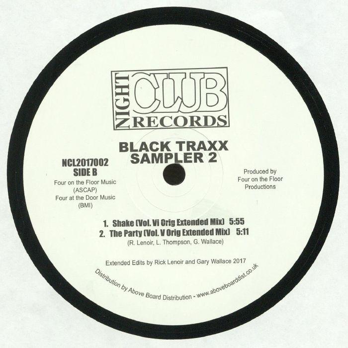 BLACK TRAXX - Sampler 2 (reissue)