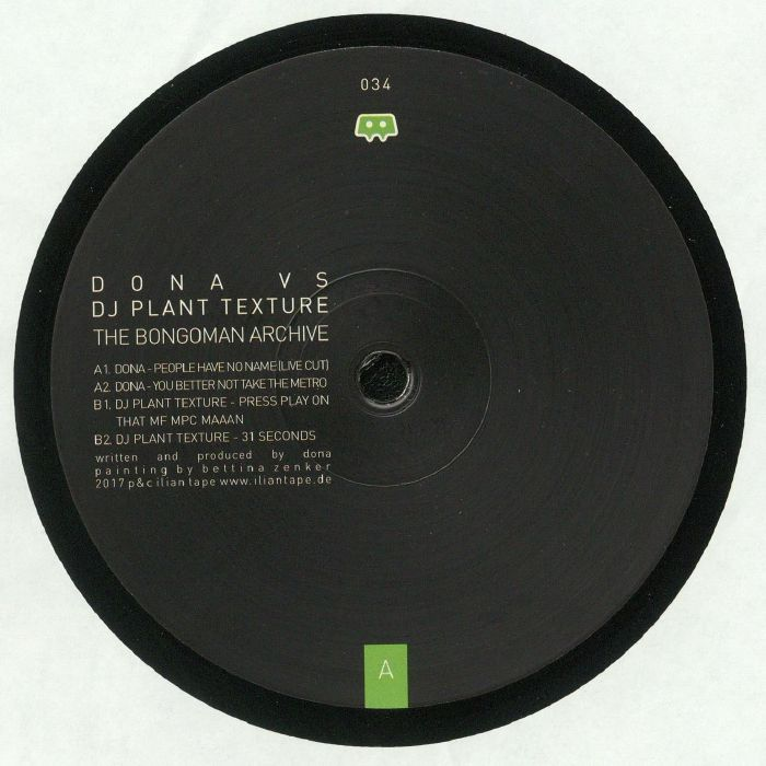 DONA vs DJ PLANT TEXTURE - The Bongoman Archive