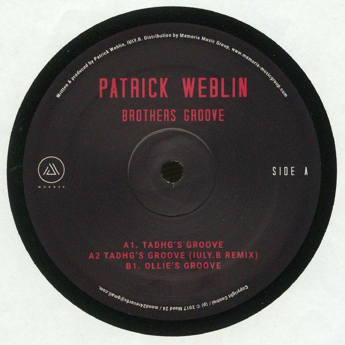 WEBLIN, Patrick - Brothers Groove