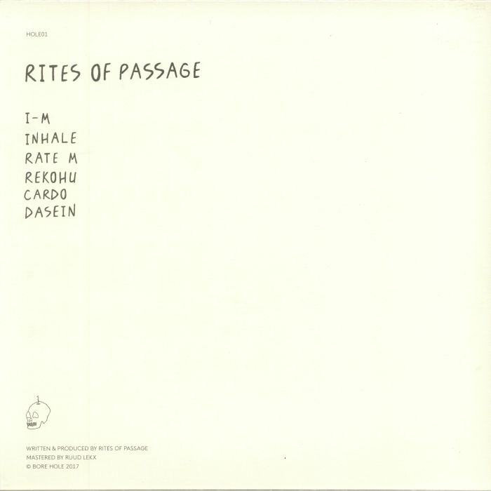 RITES OF PASSAGE - I M