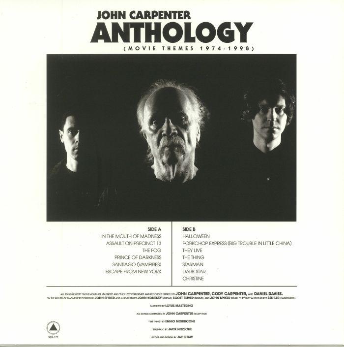 John CARPENTER Anthology: Movie Themes 1974 1998 vinyl at ...