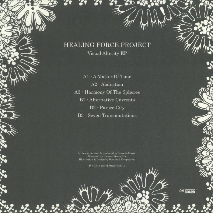 HEALING FORCE PROJECT - Visual Alterity EP