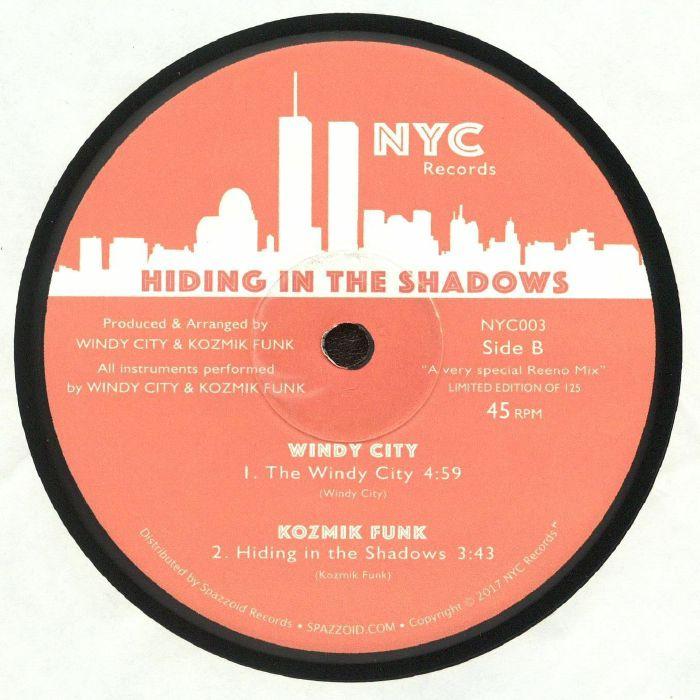 SYNTHMAN/WINDY CITY/KOZMIK FUNK - Hiding In The Shadows