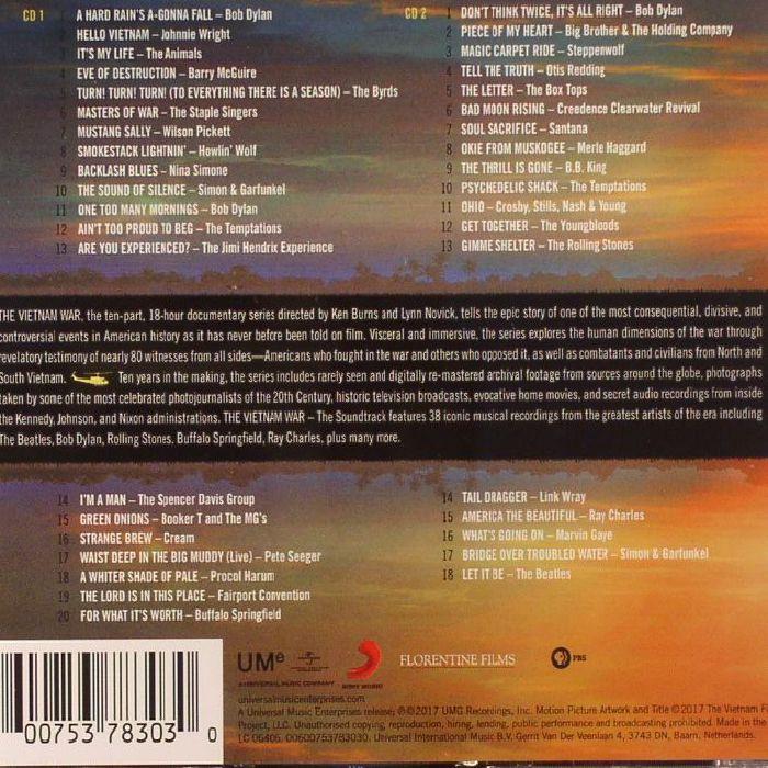Various The Vietnam War Soundtrack Vinyl At Juno Records