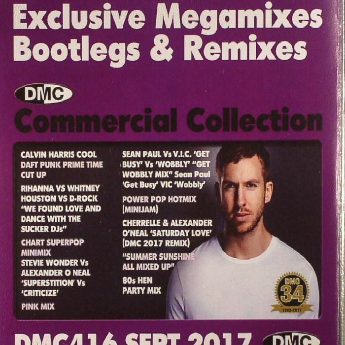 VARIOUS - DMC Commercial Collection September 2017: Exclusive Megamixes Bootlegs & Remixes (Strictly DJ Only)