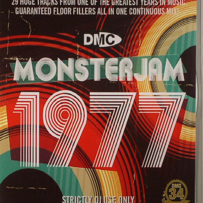 VARIOUS - Monsterjam 1977 (Strictly DJ Only)