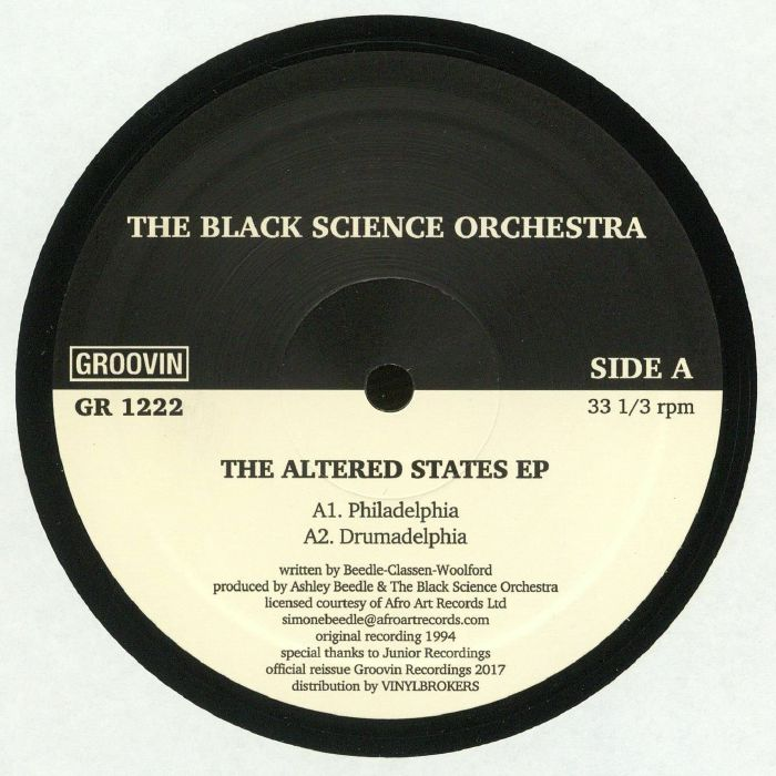 BLACK SCIENCE ORCHESTRA, The - The Altered States EP