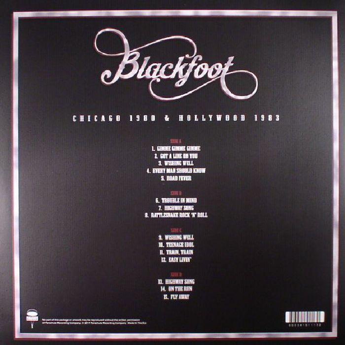 BLACKFOOT - Chicago 1980 & Hollywood 1983