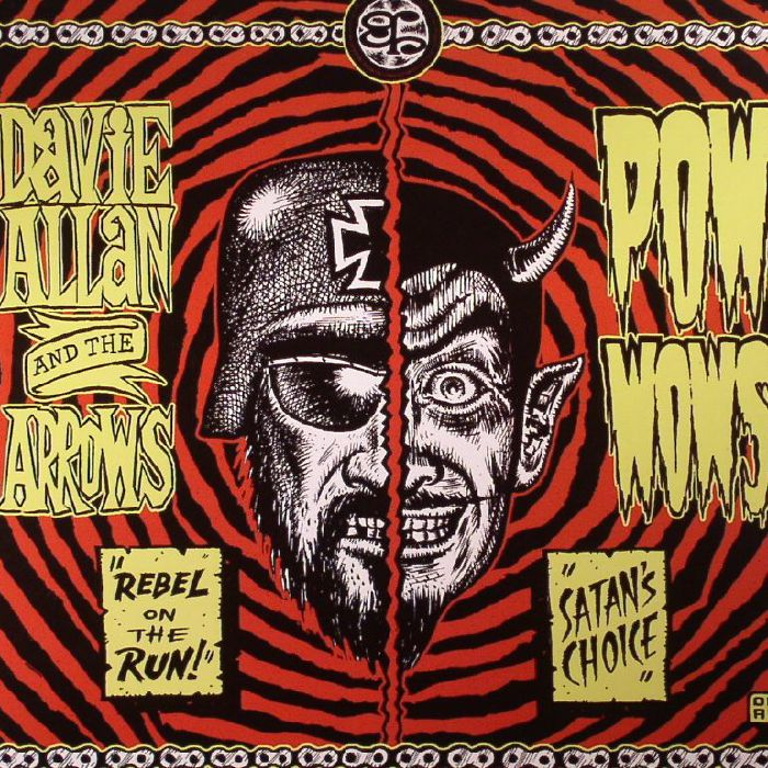 ALLAN, Davie & THE ARROWS/POW  WOWS - Rebel On The Run
