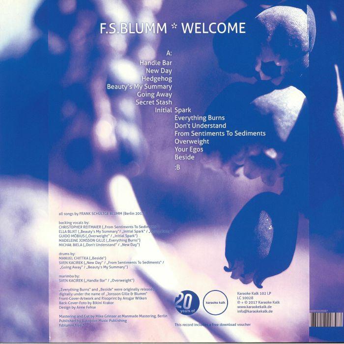 BLUMM, FS - Welcome