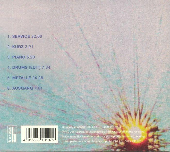 CLUSTER/FARNBAUER - Live In Vienna 1980
