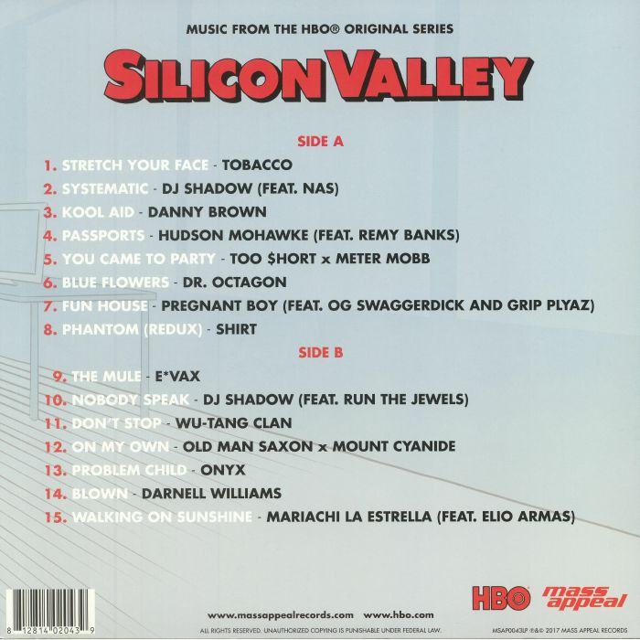 VARIOUS - Silicon Valley (Soundtrack)