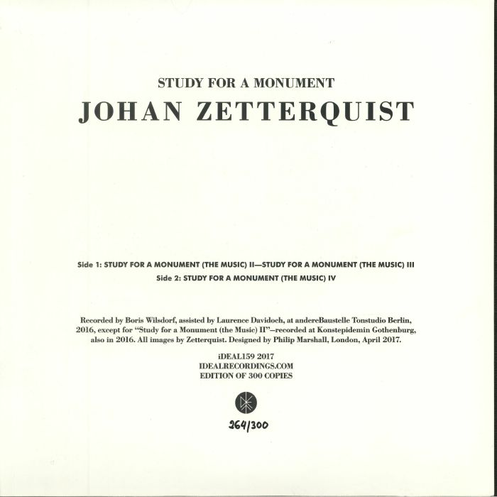 ZETTERQUIST, Johan - Study For A Monument