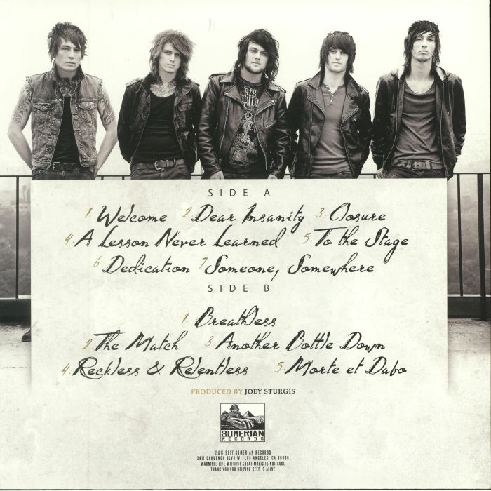 ASKING ALEXANDRIA - Reckless & Relentless (reissue)