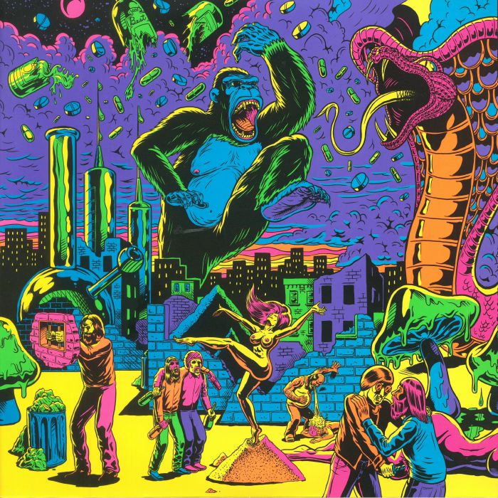 VARIOUS - Warfaring Strangers: Acid Nightmares
