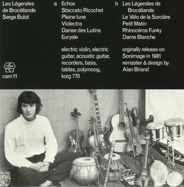 BULOT, Serge - Les Legendes De Broceliande