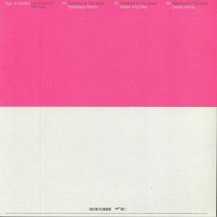 TIGA vs AUDION - Nightclub EP: Remixes