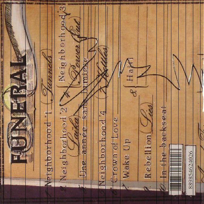 ARCADE FIRE - Funeral (reissue)
