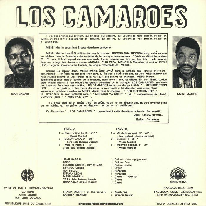 LOS CAMAROES - Resurrection Los