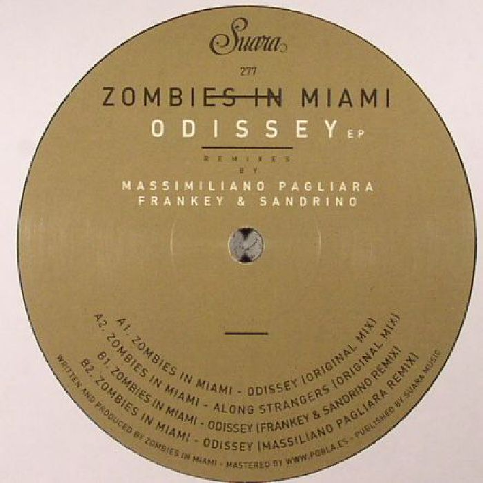 ZOMBIES IN MIAMI - Odissey EP