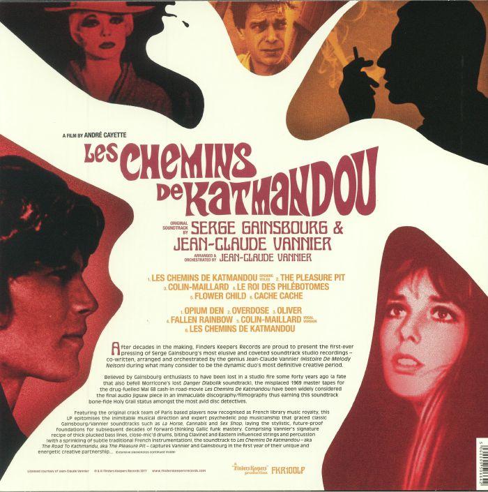 GAINSBOURG, Serge/JEAN CLAUDE VANNIER - Les Chemins De Katmandou (Soundtrack)