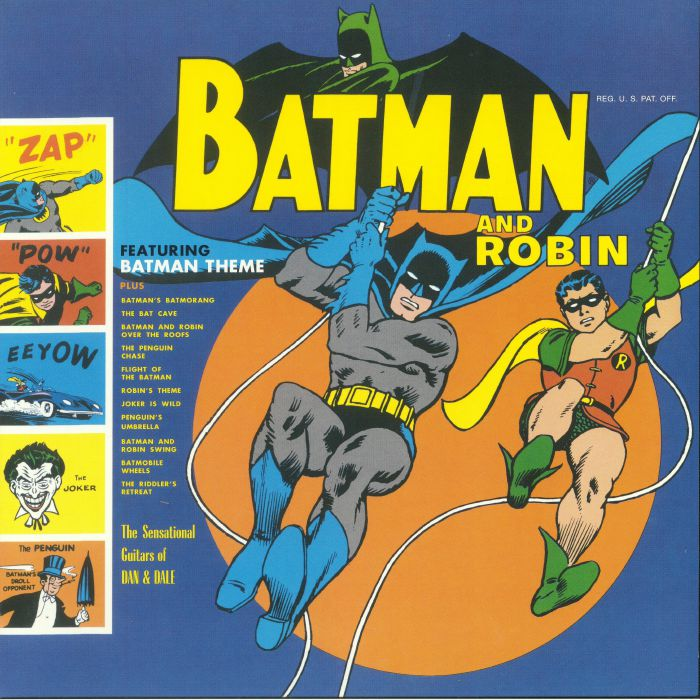 SENSATIONAL GUITARS OF DAN & DALE, The/SUN RA & THE BLUES PROJECT - Batman & Robin (reissue)