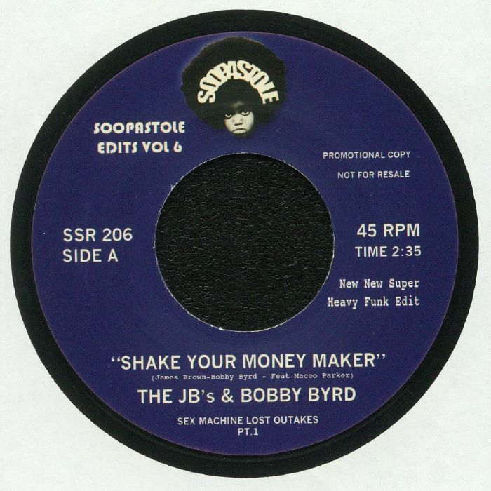 JB'S, The/BOBBY BYRD - Soopastole Edits Vol 6