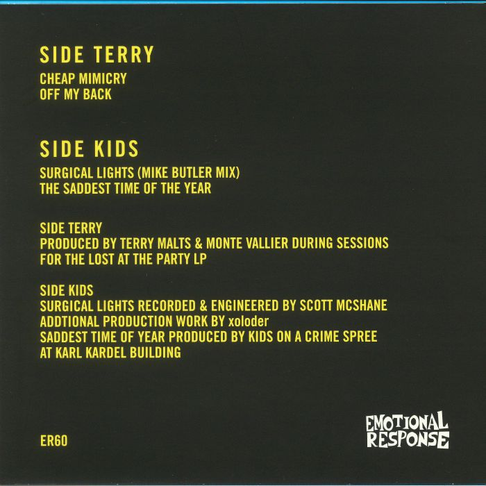 TERRY MALTS/KIDS ON A CRIME SPREE - Our Love