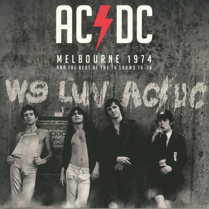 AC/DC - Melbourne 1974 & The Best Of The TV Shows 76-78