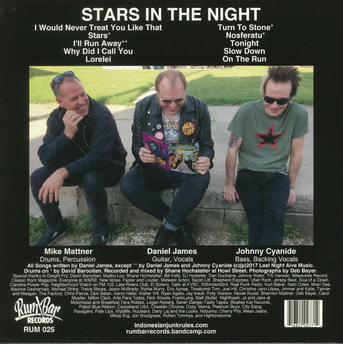 INDONESIAN JUNK - Stars In The Night