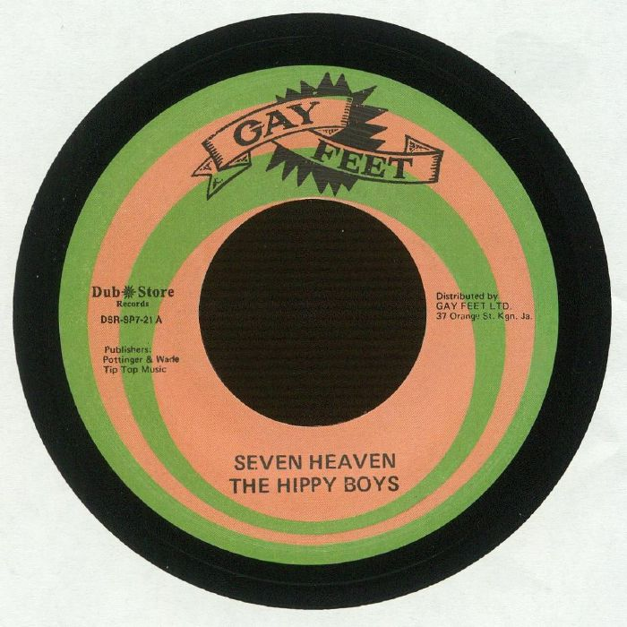 HIPPY BOYS, The - Seven Heaven